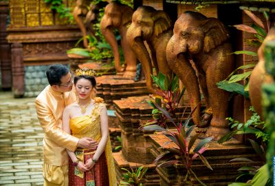 Wedding photo session Traditional Thai. Photo 64060