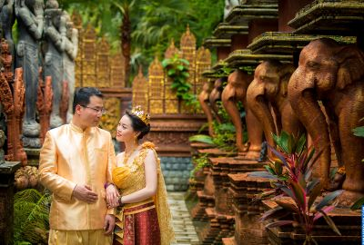 Wedding photo session Traditional Thai. Photo 64056