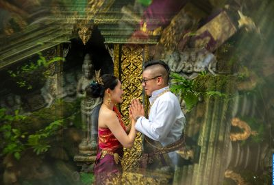 Wedding photo session Traditional Thai. Photo 64085