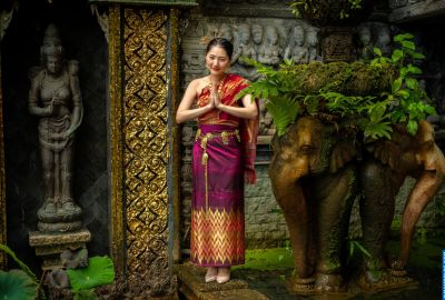 Wedding photo session Traditional Thai. Photo 64107