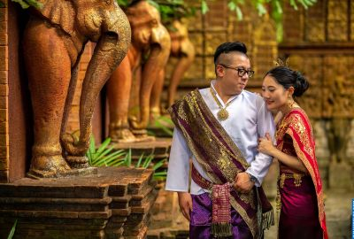 Wedding photo session Traditional Thai. Photo 64099