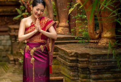 Wedding photo session Traditional Thai. Photo 64067
