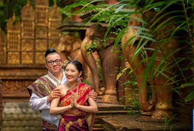 Wedding photo session Traditional Thai. Photo 64100