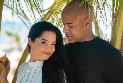 Love story photo shooting Luis & Angelee. Photo 68151
